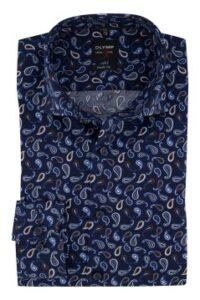 olymp-overhemd-mouwlengte-7-donkerblauw