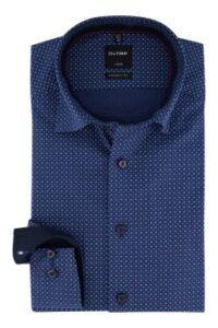 overhemd-mouwlengte-7-olymp-donkerblauw-modern-fit