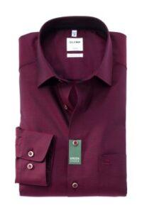 overhemd-olymp-comfort-fit-bordeaux