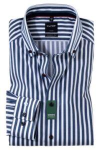 overhemd-olymp-modern-fit-marineblauwe-strepen